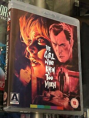 The Girl Who Knew Too Much (BLU-RAY/DVD 3-DISC SET! ARROW VIDEO! NEW! REGION B!