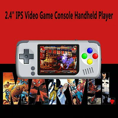 "2.4"" IPS Mini Portable Video Game Konsole Retro Spiel Handheld System Player 16G"