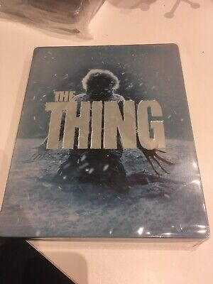 Blu ray Steelbook - The Thing - Neuf Sous Blister