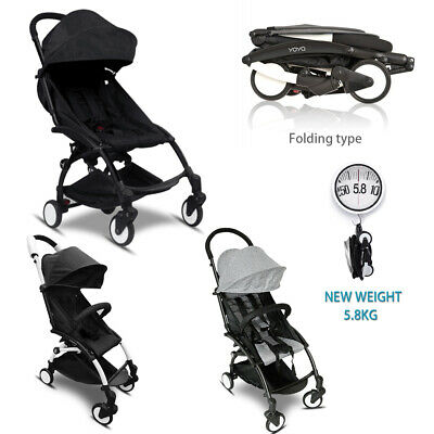 Compact Lightweight Baby Stroller Pram Folding Travel Carry Pad Liner Toddler