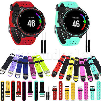 Silicone Wrist Band Strap Replacement for Garmin Forerunner 235 630 230 Watch