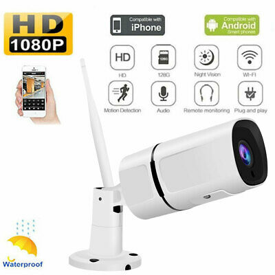 JOOAN Wireless HD 1080P WIFI IP Camera Onvif Outdoor Security IR Night Vision