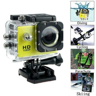 4k Full HD Sports Action Camera Waterproof Diving DVR Go Camcorder Cam Prop A0J1