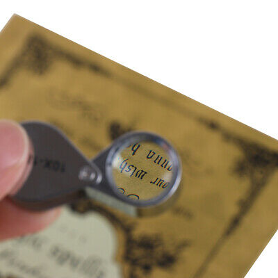 Triplet jeweler eye loupe magnifier magnifying glass jewelry diamond FE AuAU