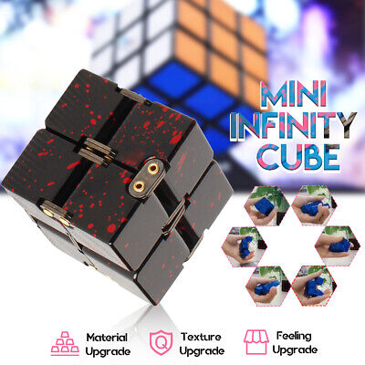 Luxury EDC Infinity Cube Mini Fidget Anti Anxiety Stress Funny Toy Stress Relief