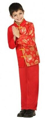 Boys Chinese New Year Around the World Film Fancy Dress Costume Outfit 3-12 yrs