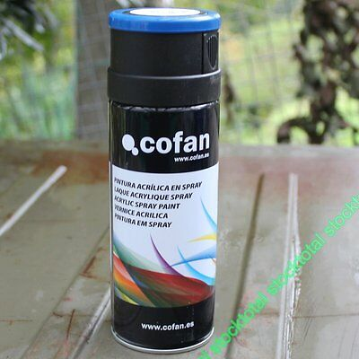 Spray Pintura Esmalte Acrilica En Spray 400 Ml Color Azul Genciana 15001010