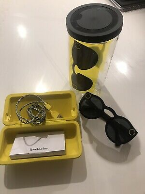 GENERATION 2 SNAP Snapchat Spectacles 2.0 ONYX Camera/Glasses Snap Chat