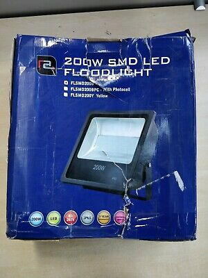 RedArrow 200 WATT LED AC Driverless Floodlight, IP65 Waterproof Rating, 240 Volt