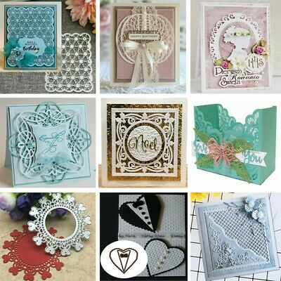 Lace Metal Cutting Dies Stencil Scrapbook Embossing Decor Card Album Paper Craft