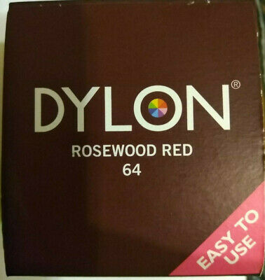 DYLON 350g Machine Dye Clothes Fabric Dye Now Includes Salt  Rosewood Red