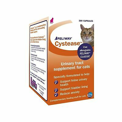FELIWAY Cystease, for stress-related bladder problems in cats - 300 Capsules