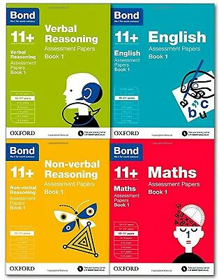 Oxford Bond 11+ 10-11 Year, Assessment Papers Book 1