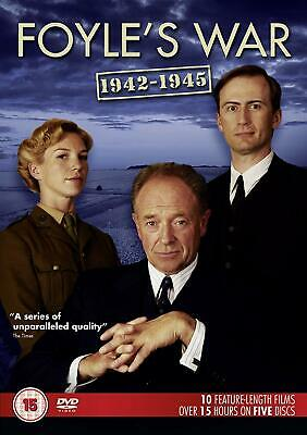 Foyle's War 1942-1945 (2016) [5-Disc Set) - GOOD Condition - FREE UK DELIVERY