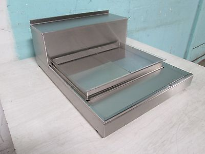 """Peters Pak"" Commercial Counter Top Refrigerated Cold Plate Merchandiser Display"
