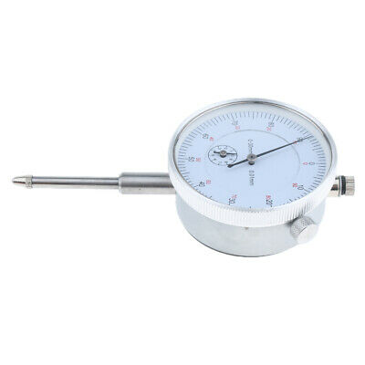 Precision Dial Test Indicator w/Pointer,Metric 0-30mm Anti-magnetic