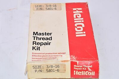 Helicoil 5401-6, Size: 3/8-16, Master Thread Repair Kit