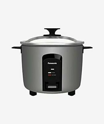 NEW IN BOX PANASONIC Automatic Rice Cooker/Steamer SR-Y18FGJ SILVER 10 cup