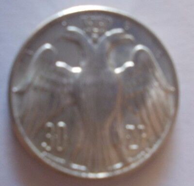 1964 Greece 30 Drachma Constantine Ii Royal Marriage