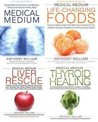 Anthony Willian 🔥 Medical Medium - Liver Rescue - Thyroid - Foods 🔥 4(E Books)