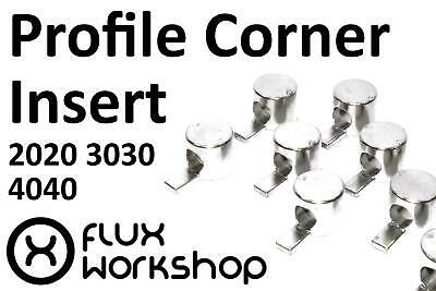 100pcs Corner Connector Aluminium Profile 20 30 40 Tnut CNC 3D Flux Workshop