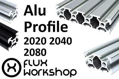 Aluminium Extrusion 2020 40 80 T Slot Frame CNC 3D Printer Flux Workshop