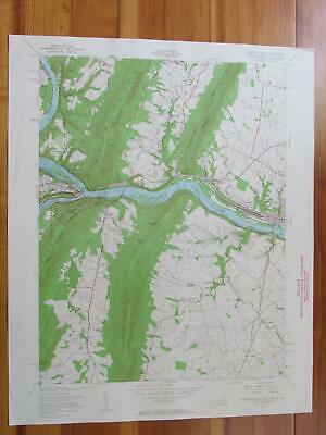 Harpers Ferry West Virginia 1961 Original Vintage USGS Topo Map