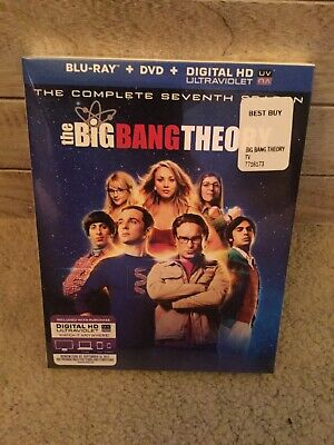 The Big Bang Theory: The Complete Seventh Season (Blu-ray Disc, 2014 New/sealed