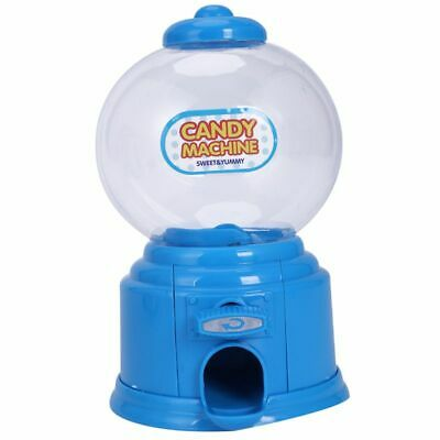 Cute Sweets Mini Candy Machine Bubble Gumball Dispenser Coin Bank Kids Toy W7G7