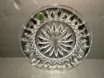"""*NEW* Waterford Crystal LISMORE (1957-) Luncheon Accent Plate 8"""" IRELAND"""