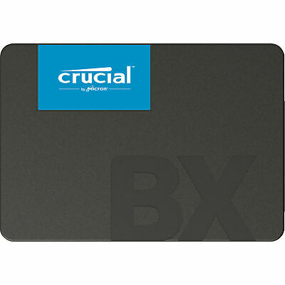 "Crucial BX500 480GB SSD 2.5"" SATA III Internal Solid State Drive 540MB/s Acronis"