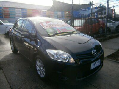 2010 Toyota Corolla ZRE152R MY10 Ascent Black Automatic 4sp A Hatchback