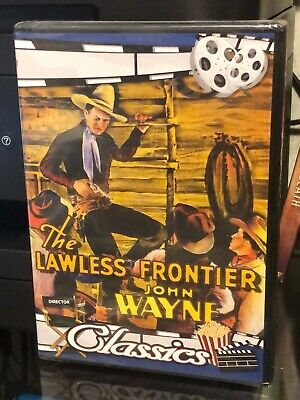 The Lawless Frontier (DVD) John Wayne, Sheila Terry, BRAND NEW!