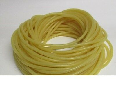 """100 Continuous  FEET 1/4"""" I.D X 1/16"""" WALL x 3/8"""" O.D LATEX SURGICAL TUBING"""
