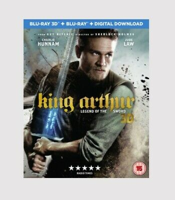 King Arthur: Legend of the Sword 3D w/ 2D Edition Blu-ray Action/Adventure Movie