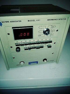 Absorbance Detector Model 441 Waters Brand Great Condition Fast Shipping NR