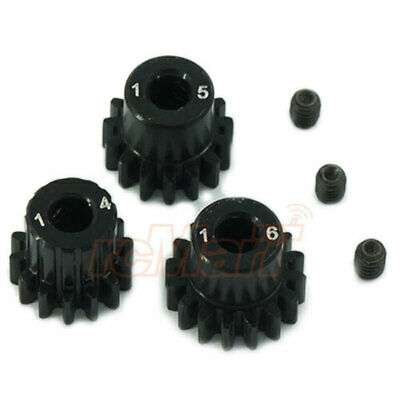 Novak Mod 0.6 Aluminum Pinion Gear Set: 14T/15T/16T 5201