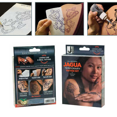 Jagua Temporary Tattoo Kit with transfer Paper Jacquard Non toxic Easy to Use!
