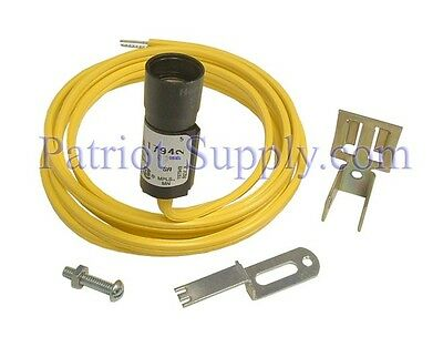 """Honeywell C554A1794 Cadmium-Sulfide Flame Detector 60"""" Leads, Bracket & Cad Cell"""