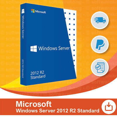 Microsoft Windows Server Standard 2012 R2, Original, Retail.