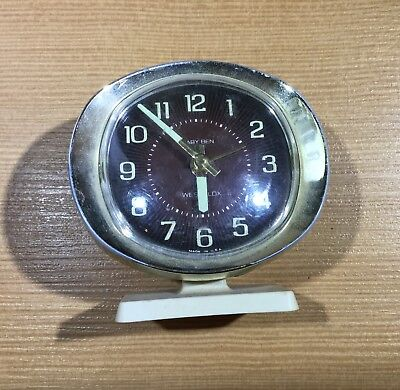 Vintage Collectible Westclox Baby Ben Alarm Clock Windup Timepiece 09168 A