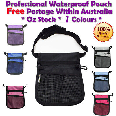 Nurse Pouch Extra Pocket Quick Pick Vet Agecare Bag with Waist Belt Strap
