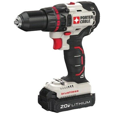 Porter-cable 20-volt Max* Compact Cordless & Brushless Drill PORPCC608LB