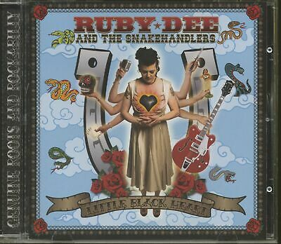 Ruby Dee & The Snakehandlers - Little Black Heart (CD) - Revival Rock & Roll/...