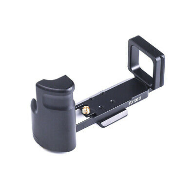 For SONY RX100 RX100II RX100III IV V Hand Grip Alloy UNC Black High Quality