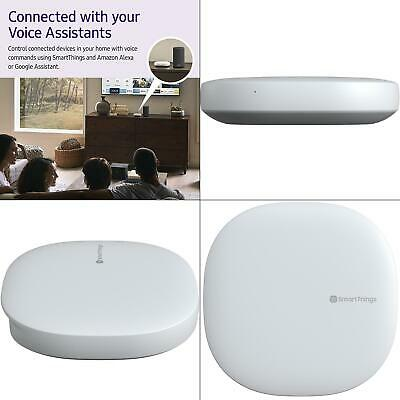 smartthings hub 3rd generation - smart home automation hub | samsung white with