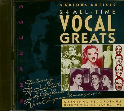 Various - 24 All-Time Vocal Greats (CD) - Pop Vocal