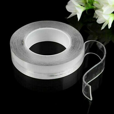Magic Adhesive Tape Double-sided Traceless Washable Tape Nano Invisible Gel Tape