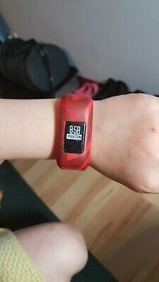 Garmin Vivofit Jr. Daily Activity Tracker for Kids Lava Red