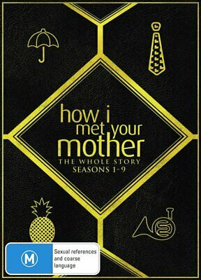 HOW I MET YOUR MOTHER Complete Series 1-9 DVD Region 4 (AUS) New & Sealed